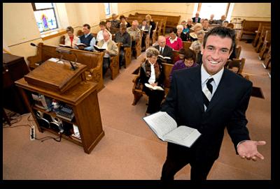 pastor-beckoning