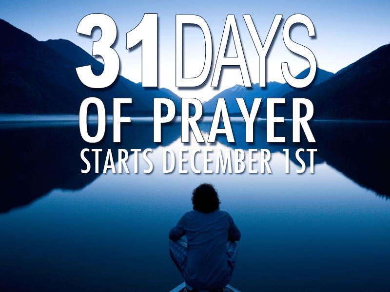 31 Days of Prayer_800x600