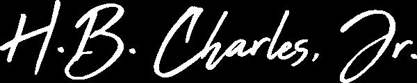 H.B. Charles Jr. signature
